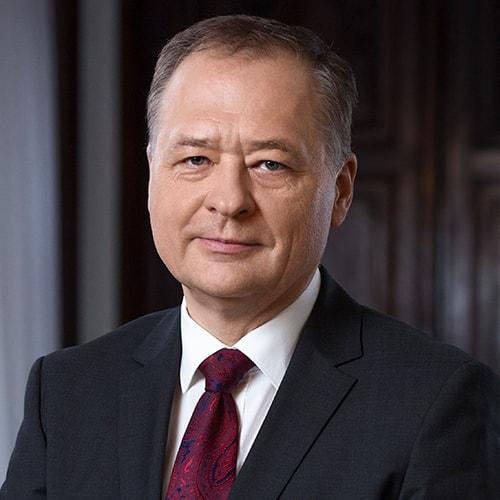Zdjęcie przedstawiające Rektora Radzisława Kordka